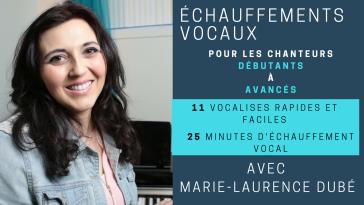 Vidéo Vocalises pour chanteur