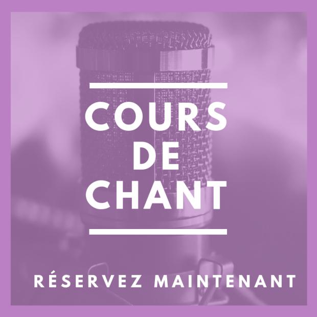 Cours de chant avec Marie-Laurence Dubé