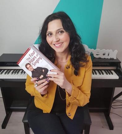 The vocalist stduio Montréal Marie-Laurence Dubé cours de chant